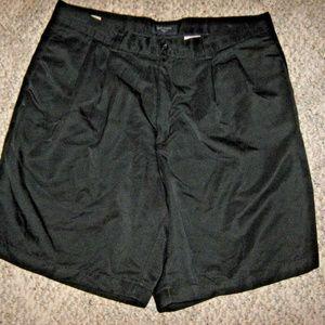 Black Pleat Dress Uniform 4 Pocket Shorts 34